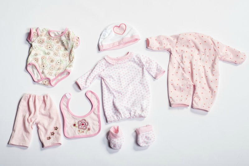 40435 SET 3 GIRL BODYSUIT OUTFITS 40435