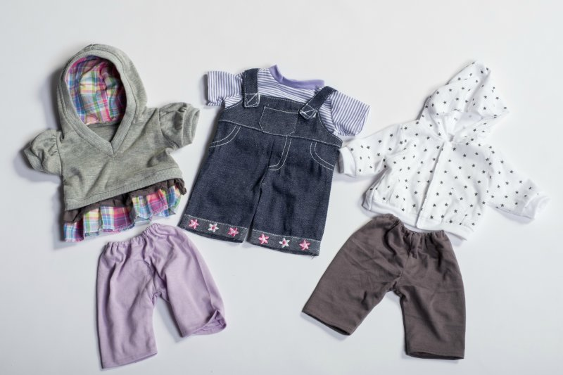 40436 SET 3 GIRL PLAYTIME OUTFITS 40436