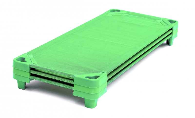 42942 GREEN REST BED 100 cm 42941 green new w